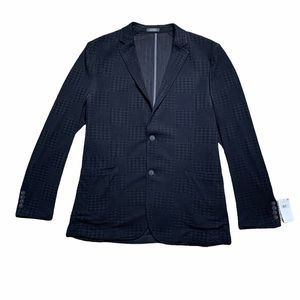 NWT Vince Camuto Houndstooth Embossed Blazer XL